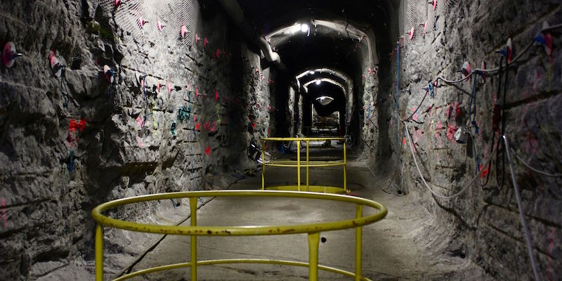 A view of the world's first underground repository for highly radioactive nuclear waste at the Olkiluoto nuclear power plant on April 28, 2016, on the island of Eurajoki, western Finland.  Underneath the green island engineers are digging the world's first permanent repository to store highly radioactive nuclear waste for the next hundred thousand years. / AFP / Sam Kingsley        (Photo credit should read SAM KINGSLEY/AFP/Getty Images)